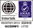 ISO27001 認証番号:IS610220